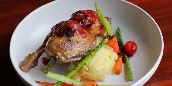 Half Roasted Chicken from Roots - Bangkok at K- Village, Bangkok