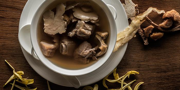 Double Boiled Soup from Jiang-Nan Chun at Four Seasons Hotel Singapore in Tanglin, Singapore