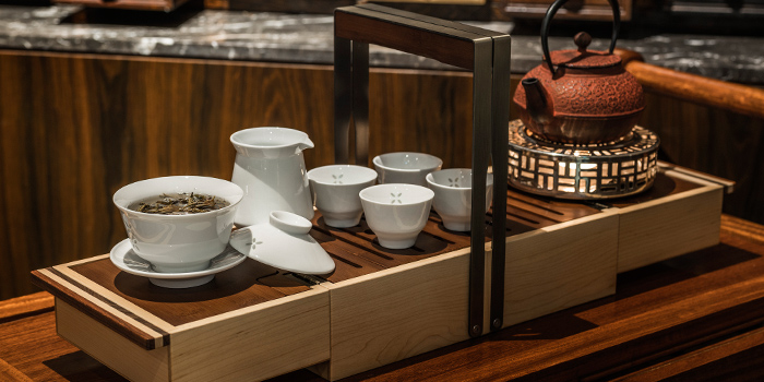 Premium Tea Service from Jiang-Nan Chun at Four Seasons Hotel Singapore in Tanglin, Singapore