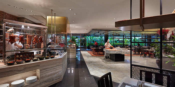 Dining Area of Melt Cafe at Mandarin Oriental in Marina Bay, Singapore