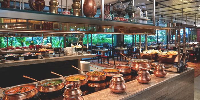 Interior of Melt Cafe at Mandarin Oriental in Marina Bay, Singapore