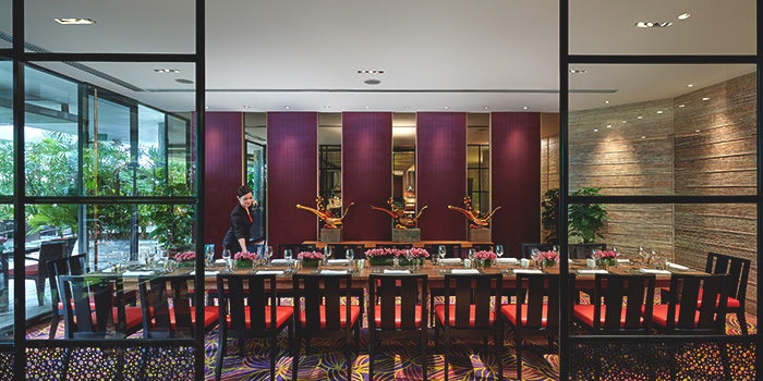 Private Dining Room of Melt Cafe at Mandarin Oriental in Marina Bay, Singapore
