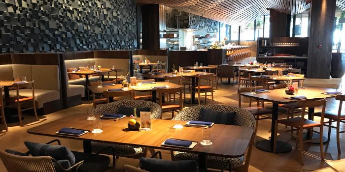 Main Dining of Morimoto Bangkok at MahaNakhon Cube, Bangkok