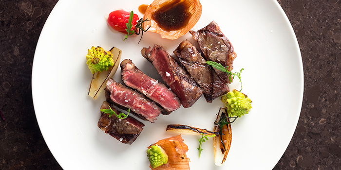 Westholme Ribeye from One-Ninety Restaurant at Four Seasons Hotel Singapore in Orchard Road, Singapore