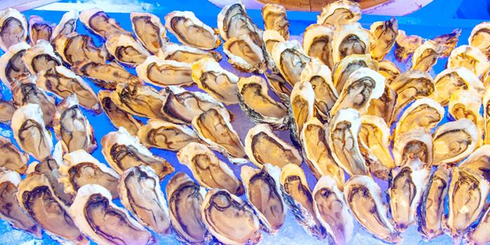Oysters from Albricias at Chatrium Residence Sathon, Soi Naradhiwas 24, Bangkok