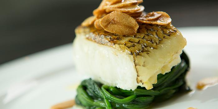 Pan Fried Chilean Sea Bass Fillet, SPARK Bar & Restaurant, Stanley, Hong Kong