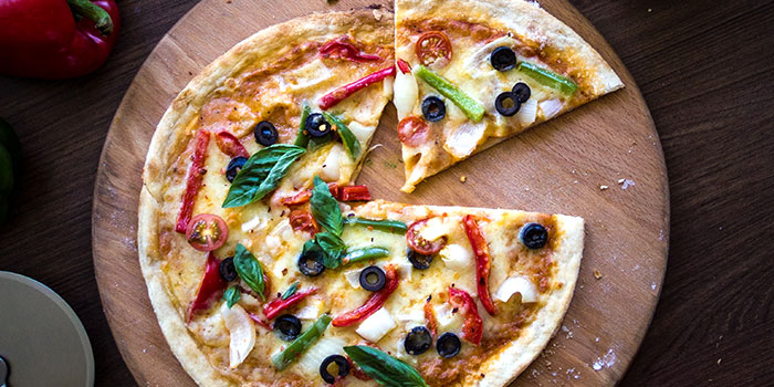 Vegetarian Pizza from Patro