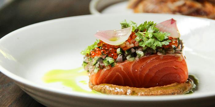 Poached Salmon from Freebird Bangkok on Sukhumvit Soi 47, Bangkok