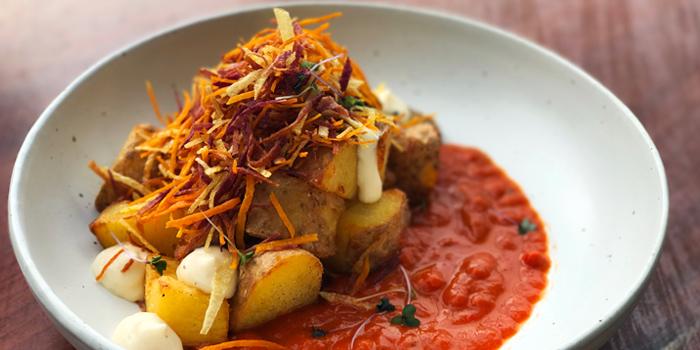Potato Bravas from Roots - Bangkok at K- Village, Bangkok