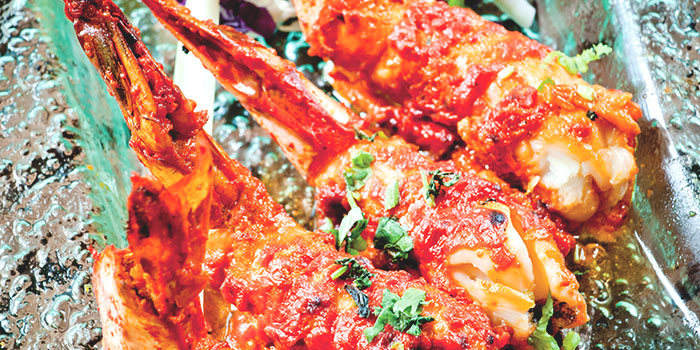 Tandoori Prawns from RAS The Essence of India in Clarke Quay, Singapore
