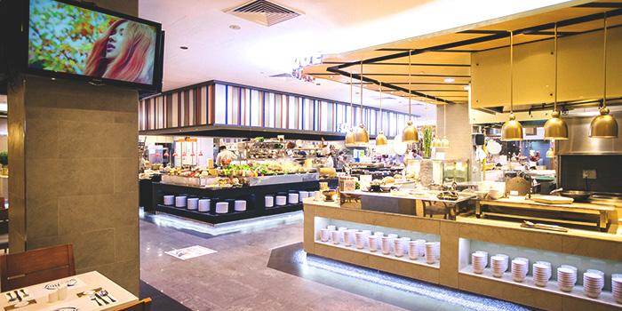 Interior of Sea & Blue at The Shoppes at Marina Bay Sands in Marina Bay, Singapore
