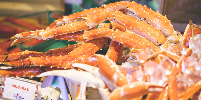 King Crab from Sea & Blue at The Shoppes at Marina Bay Sands in Marina Bay, Singapore