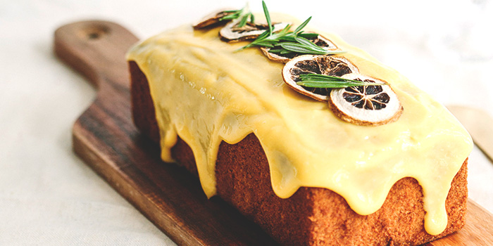 Orange Passionfruit Loaf Cake from Shop Wonderland in Telok Ayer, Singapore