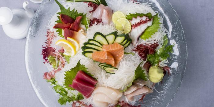 Sashimi from Hansha in Nai Harn, Phuket, Thailand.