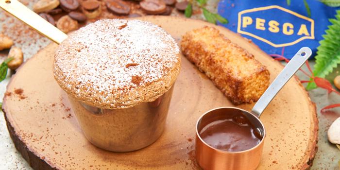 Souffle Chocolate from Pesca Mar & Terra Bistro at Ekkamai 12 Alley, Wattana, Bangkok