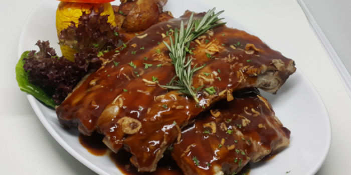 Spareribs from Karlsson Restaurant & Steakhouse Karon in Karon, Phuket, Thailand