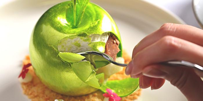 Golden Apple Dessert from Tea Lounge at Regent Singapore in Tanglin, Singapore