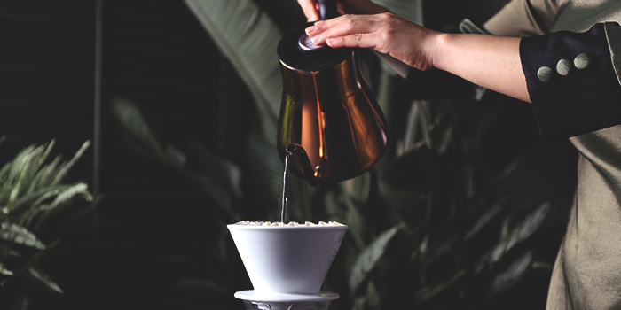 Pour Over Coffee from Tea Lounge at Regent Singapore in Tanglin, Singapore