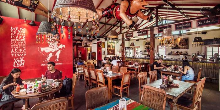 Interior 2 at Hog Wild Seminyak, Bali