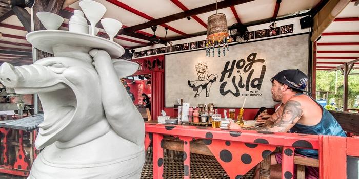 Interior 1 of Hog Wild in Seminyak, Bali