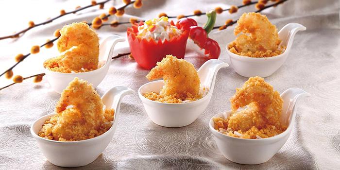 Golden Sand prawn balls, Greenland Spicy Crab, Tsim Sha Tsui, Hong Kong