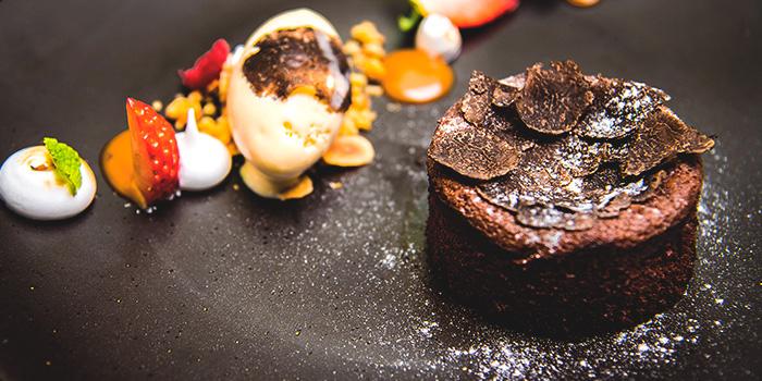 Seasonal Special - Cioccolata with Black Truffle from Senso Ristorante & Bar on Club Street in Tanjong Pagar, Singapore