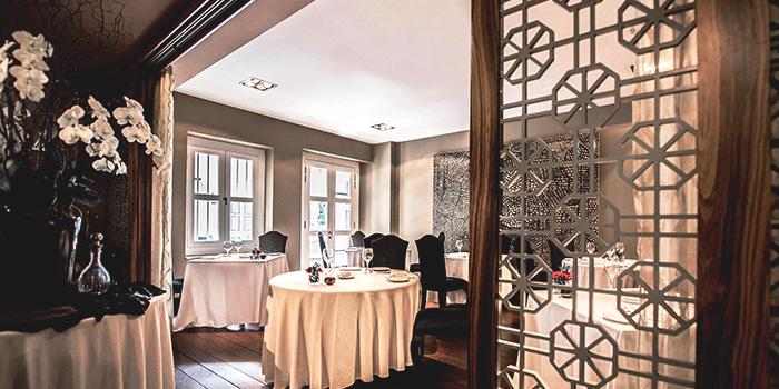 Dining Room of Senso Ristorante & Bar on Club Street in Tanjong Pagar, Singapore