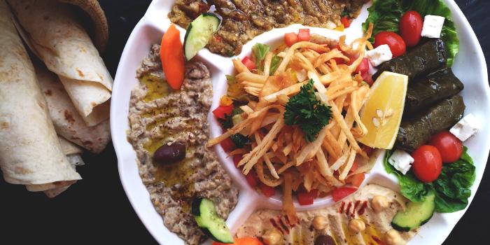 Mezza from Al-Sanobar Lebanese Restaurant in Bugis, Singapore