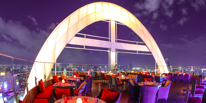 Ambience from Red Sky at Centara Grand at Central World, Rama 1 Road, Bangkok