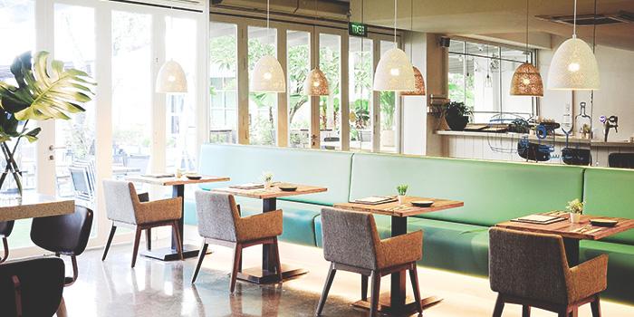 Interior of Blue Lotus Mediterranean Kitchen & Bar in Queenstown, Singapore