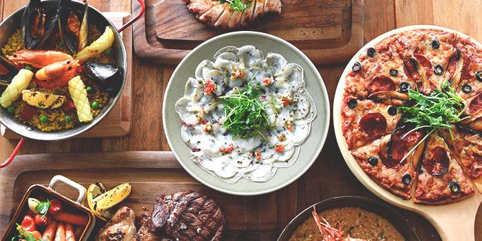 Food Spread from Blue Lotus Mediterranean Kitchen & Bar in Queentown, Singapore
