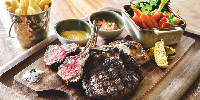 Grilled Meat Platter from Blue Lotus Mediterranean Kitchen & Bar in Queenstown, Singapore