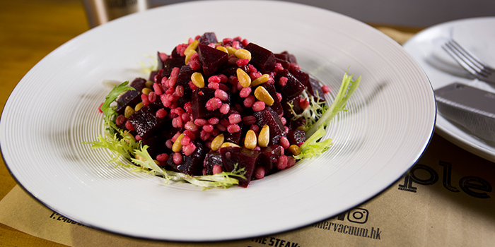 Beetroot Barley Salad, The Hangout by Under Vacuum, Prince Edward, Hong Kong
