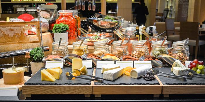 Cheese Buffet from Latest Recipe at Le Méridien Suvarnabhumi, Bangna, Bangkok