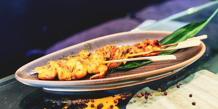 Chicken Satay from Rock Restaurant & Bar at Soi Ruamrudee, Witthayu Road, Bangkok