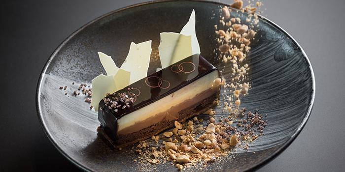 Chocolate Trio (Gluten free chocolate cake, calamansi cream, Valrona), CÉ LA VI Restaurant Hong Kong, Lan Kwai Fong, Hong Kong