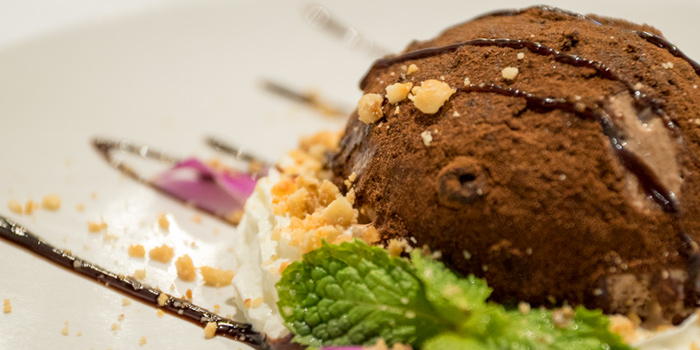 Chocolate Ice Cream fromTruffles Bar & Ristorante Soi Sainamthip, Sukhumvit 22, Bangkok