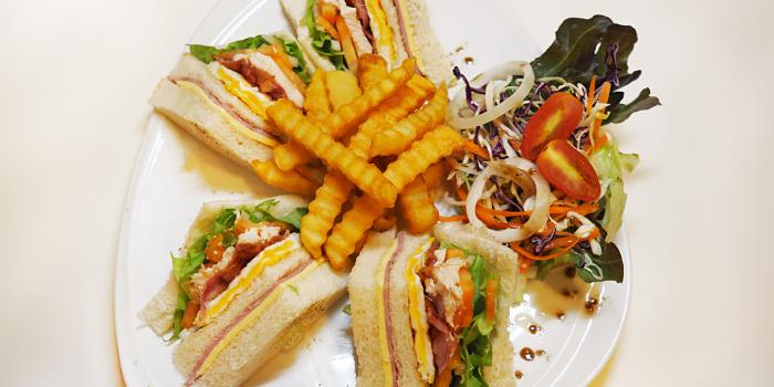 Club Sandwich from Nami Restaurant in Karon, Phuket, Thailand