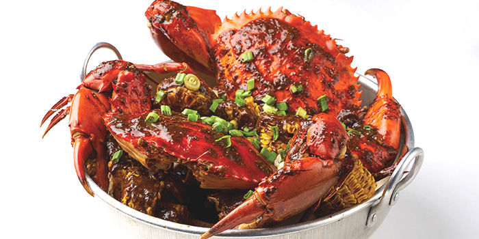 Black Pepper Crab from Dancing Crab in Orchard, Singapore
