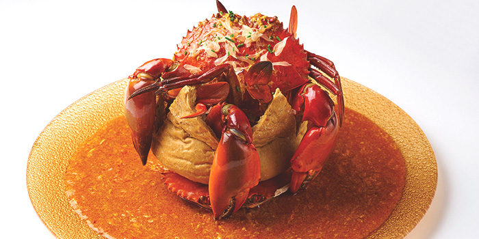 Chilli Crab from Dancing Crab at VivoCity in Harbourfront, Singapore