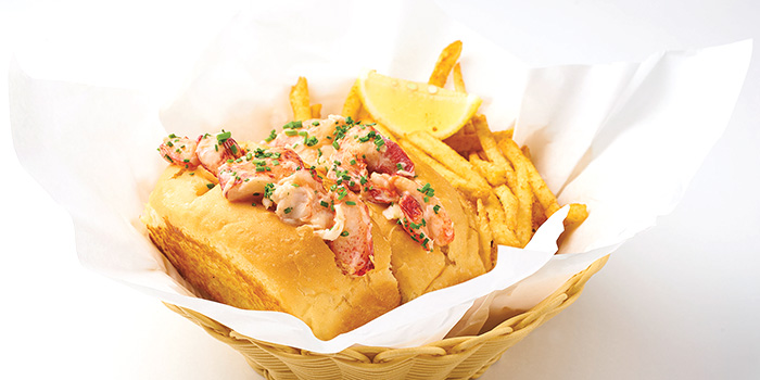 Lobster Roll from Dancing Crab in Orchard, Singapore
