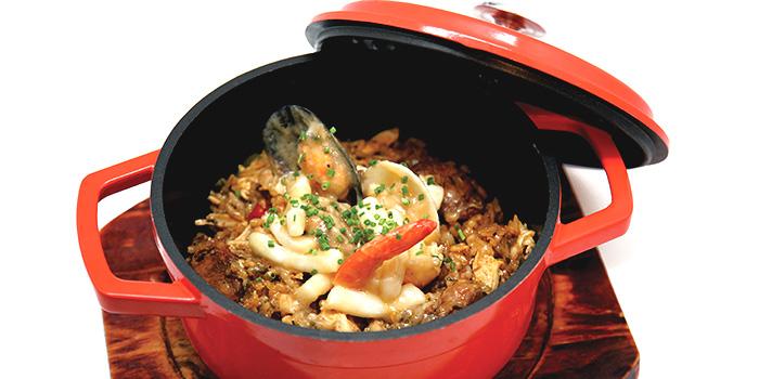 Seafood Jambalaya from Dancing Crab in Bukit Timah, Singapore