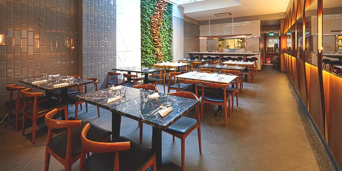 Dining Area of Daegweol in Tanjong Pagar, Singapore