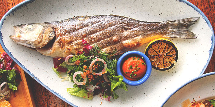 Fish from Bayswater Kitchen at Marina at Keppel Bay, Singapore