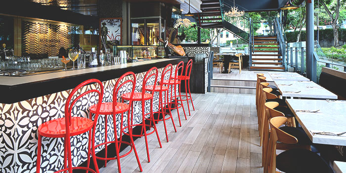 Sabio Interior from Glasshouse by DHM at The Heeren in Orchard, Singapore