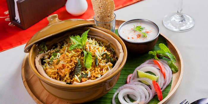 Hyderabadi Biryani from Indian Essence Art at 6 Sukhumvit 22, Khlong teoi, Bangkok