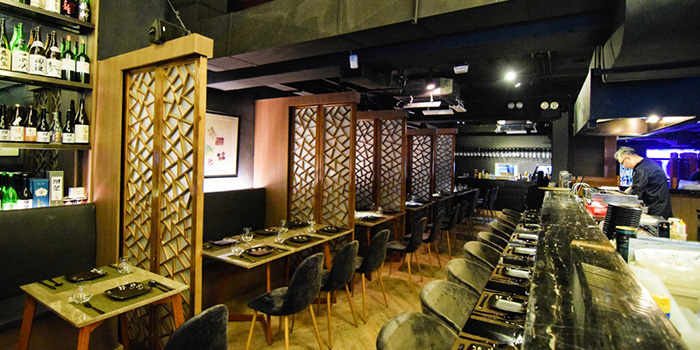 Interior, Wulu Bar & Restaurant, Tsim Sha Tsui, Hong Kong
