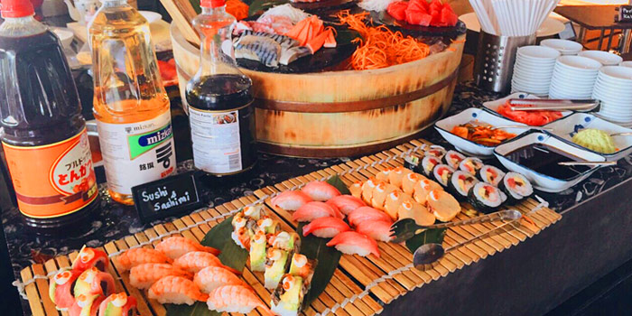 Japanese Buffet from Latest Recipe at Le Méridien Suvarnabhumi, Bangna, Bangkok