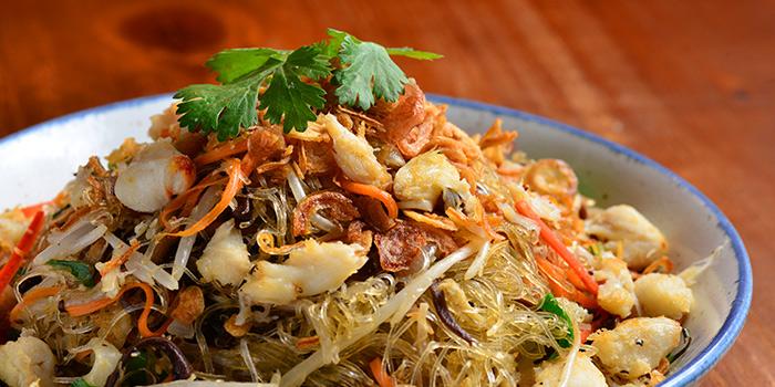 Jumbo Crab Lump Glass Noodle, Moi Moi, Central, Hong Kong