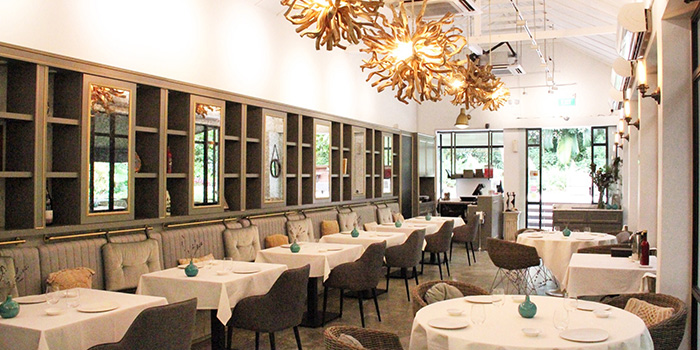 Dining Area of La Ventana in Dempsey, Singapore